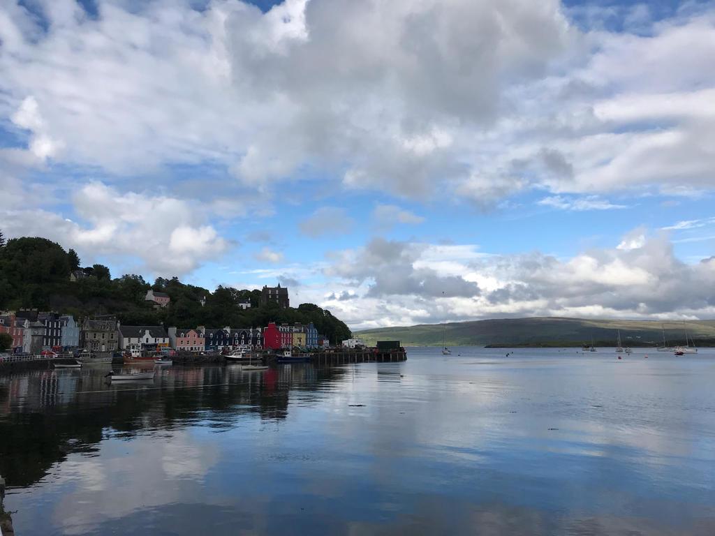 Škótske ostrovy z lode